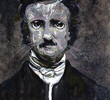 Black Cat Poe by Cameron Hampton