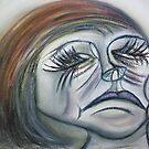 Sad Beauty... by C Rodriguez
