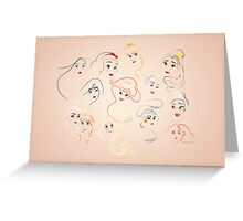 Allure - Princesses Greeting Card