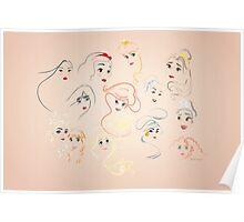 Allure - Princesses Poster