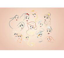 Allure - Princesses Photographic Print