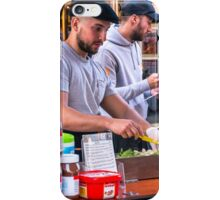 The creperie cart iPhone Case/Skin