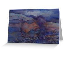 Her-scapes, Motherhood  Greeting Card