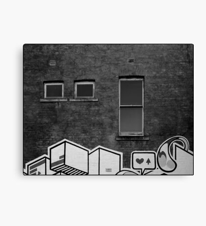 East End Wall Canvas Print
