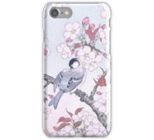 JAPANESE ART - Bird on Sakura iPhone Case/Skin