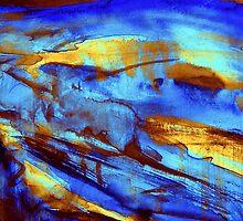 blue terrain... down the valley by banrai