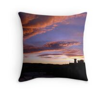 Nature's Pre-Sunrise Paint Brush At Work Throw Pillow