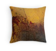 Rothko, Yellow and Red Throw Pillow