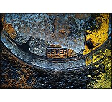 Sewer Class Photographic Print