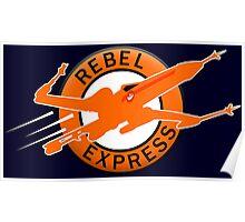 Star Wars - Rebel Express Poster