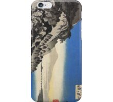 JAPANESE ART - Mountain by the sea  iPhone Case/Skin