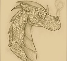 Smaug  by CloudNoFeather