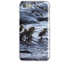 Hitting the morning surf iPhone Case/Skin