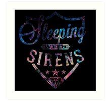Sleeping with Sirens Logo Art Print