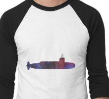 Submarine - Galaxy Men's Baseball ¾ T-Shirt