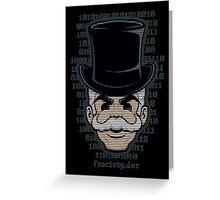 Mr. Robot Mask Greeting Card
