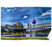 Universe of Energy at Epcot Poster