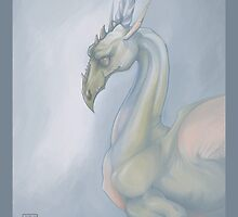 Portrait of a Dragon by corinnavargas