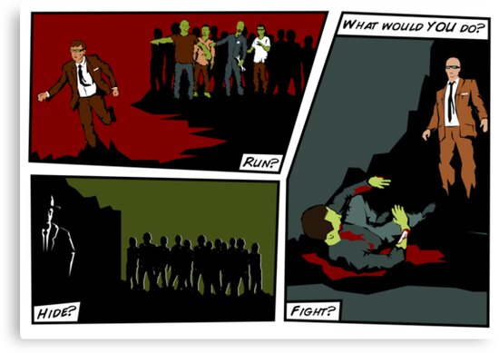 Zombie Apocalypse - What would YOU do? by robotrobotROBOT