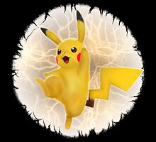 Electrifying Pikachu!  by Oscar30694