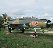 Russian.MIG.fighter_Military.park_town.Zanka_Hungary_Europe2010Aug. by ambrusz