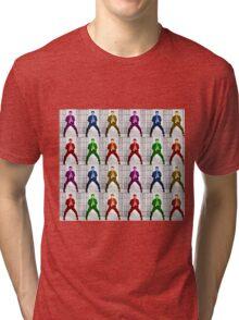 Rainbow Elvis 2 Tri-blend T-Shirt