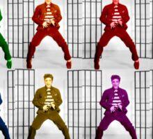Rainbow Elvis 2 Sticker
