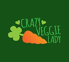 Crazy Veggie Lady by jazzydevil