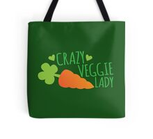 Crazy Veggie Lady Tote Bag
