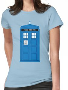 DOCTOR WHO. Womens Fitted T-Shirt