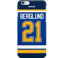 St. Louis Blues Patrik Berglund Jersey Back Phone Case iPhone Case/Skin