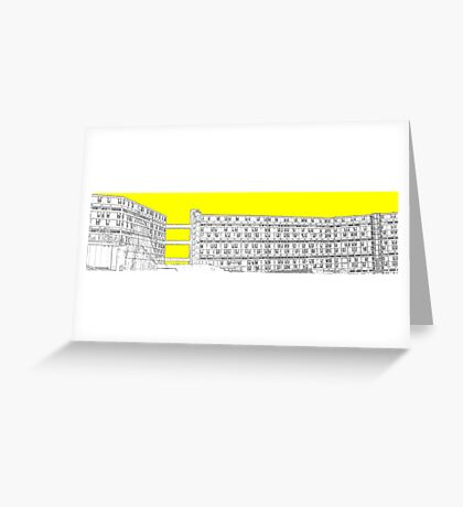 Park Hill - Yellow Greeting Card