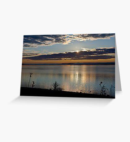 Sunrise in Digby - Nova Scotia Greeting Card