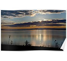 Sunrise in Digby - Nova Scotia Poster