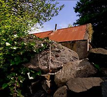 Old & Rundown Shed by Julesrules
