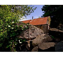 Old & Rundown Shed Photographic Print