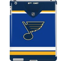 St. Louis Blues Home Jersey iPad Case/Skin