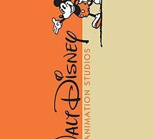 WALT DISNEY ANIMATION ORANGE by Disneydisney