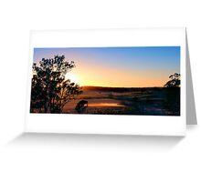 The Last Sunrise Greeting Card