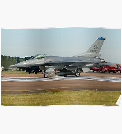 F-16 Fighting Falcon USAF Poster