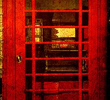 Telephone Box - unhinged by Deb Gibbons