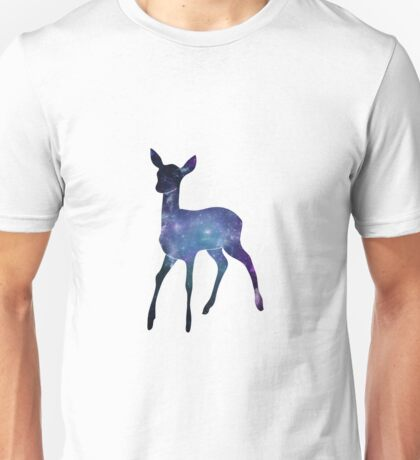 Nebula in a deer Unisex T-Shirt