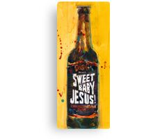 Sweet Baby Jesus by DuClaw Brewing Beer Canvas Print