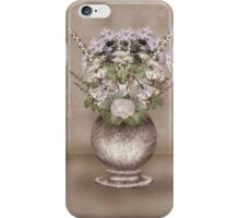The pot with flowers iPhone Case/Skin