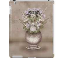 The pot with flowers iPad Case/Skin