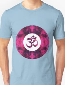 Spinel Space Om Unisex T-Shirt