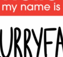 MY NAME IS BLURRYFACE Sticker