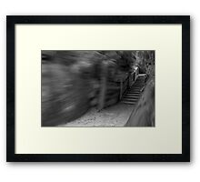 Stairway to Oblivion Framed Print