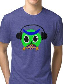 Owl Tunes Tri-blend T-Shirt