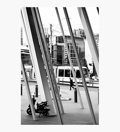Scooter Photographic Print